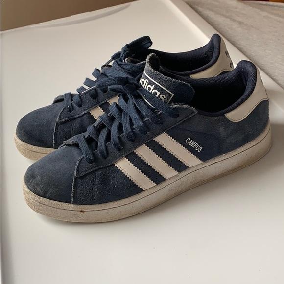 adidas Shoes | Campus Blue Suede | Poshmark